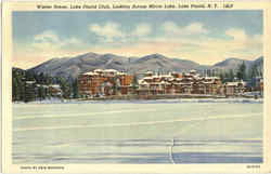 Winter Scene, Lake Placid Club