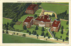 Oswego State Teachers College From The Air