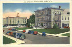 Post Office And Pontiac Hotel