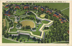 Air View Of Fort Ontario