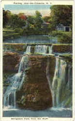 Shingiekill Falls From The Bluff