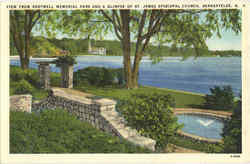 View From Shotwell Memorial Park Postcard