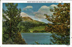 Mount Baker And Moody Pond, Saranac Lake
