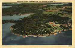 Thousand Islands Park From The Air