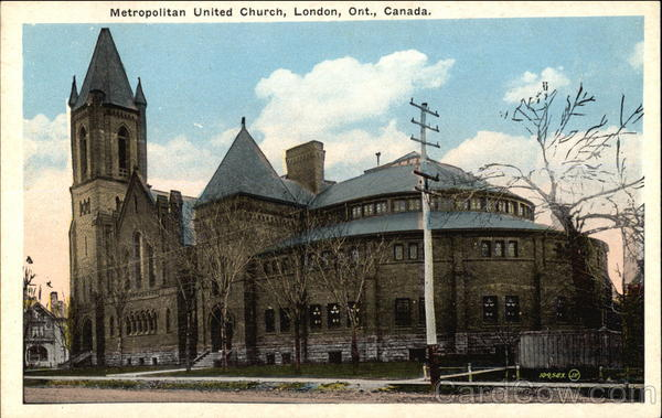 Metropolitan United Church London Canada Ontario