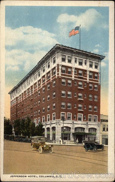 Jefferson Hotel Columbia South Carolina