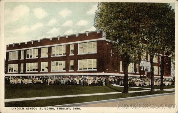 Lincoln School Building Findlay Ohio