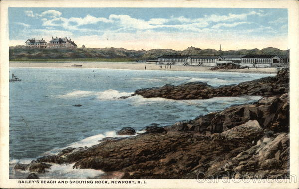 Bailey's Beach and Spouting Rock Newport Rhode Island