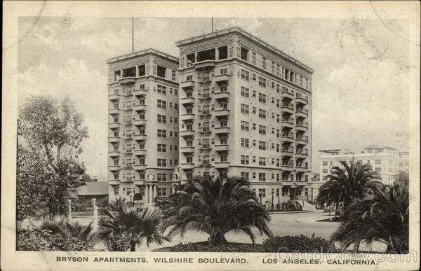 Bryson Apartments, Wilshire Boulevard Los Angeles California