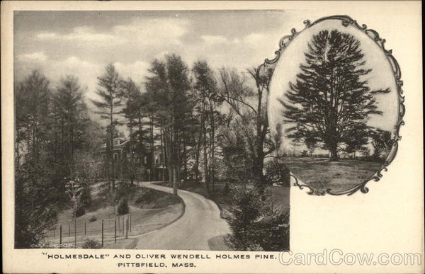 Holmesdale and Oliver Wendel Holmes Pine Pittsfield Massachusetts