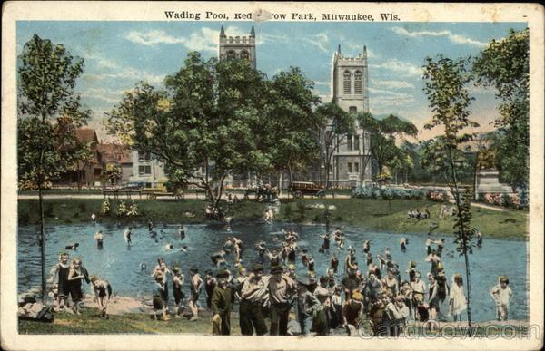 Red arrow park wading pool milwaukee wi - Washington park swimming pool milwaukee ...