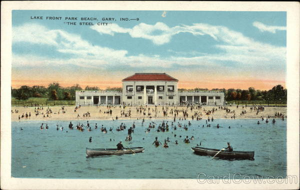 Lake Front Beach Gary Indiana