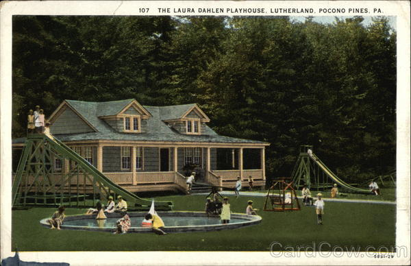 The Laura Dahlen Playhouse, Lutherland Pocono Pines Pennsylvania