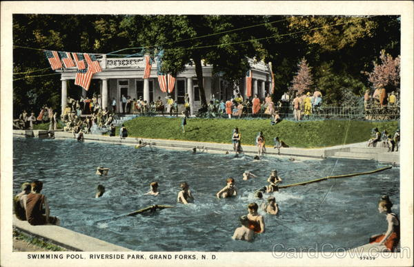 Riverside Park Swimming Pool Grand Forks Nd