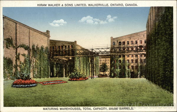 Hiram Walker & Sons Limited - Maturing Warehouses Walkerville Canada