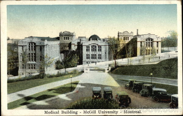 Medical Building - McGill University Montreal Canada