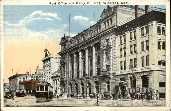 Post Office and Garry Building Winnipeg Canada Manitoba