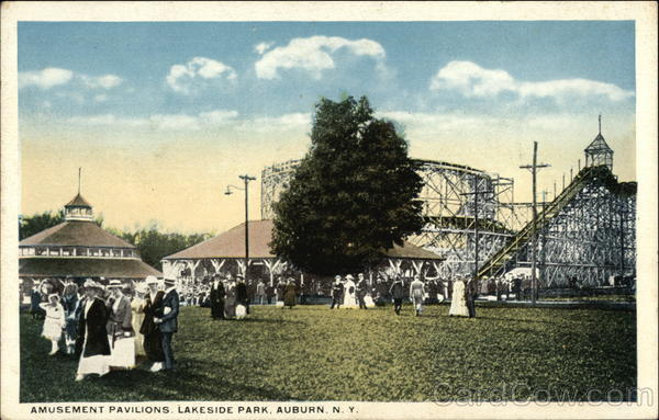 Amusement Pavilions, Lakeside Park Auburn New York
