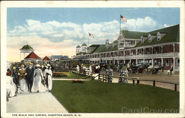 The Walk and Casino Hampton Beach New Hampshire