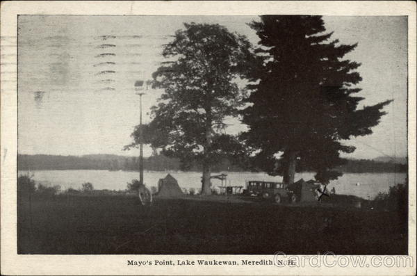 Mayo's Point, Lake Waukewan Meredith New Hampshire