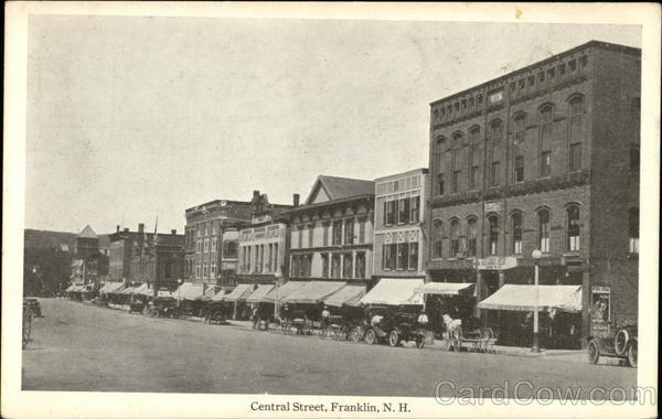 Central Street Franklin New Hampshire