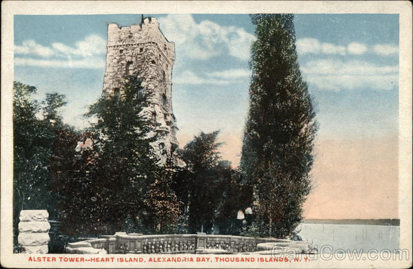 Alster Tower--Heart Island, Alexandria Bay Thousand Islands New York