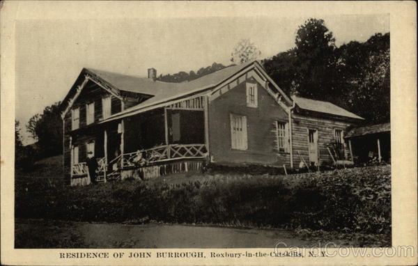 Residence of John Burrough Roxbury New York