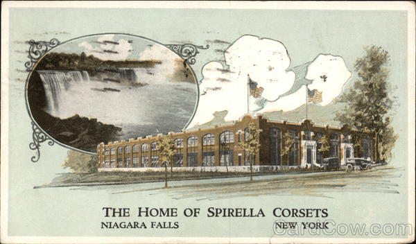 Spirella Corsets - Headquarters and Offices Niagara Falls New York