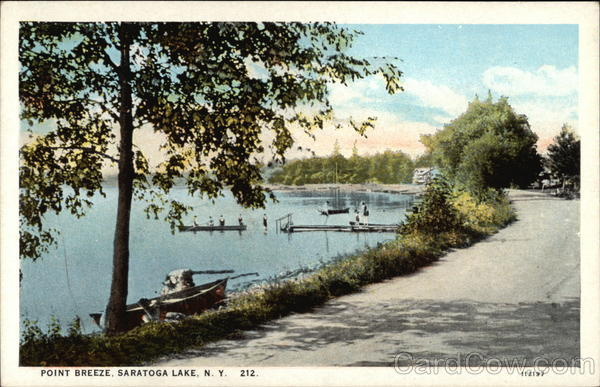 Point Breeze Saratoga Lake New York