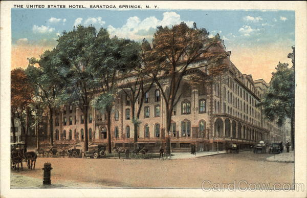 The United States Hotel Saratoga Springs New York