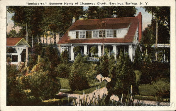 Inniscarra - Summer Home of Chauncey Olcott Saratoga Springs New York