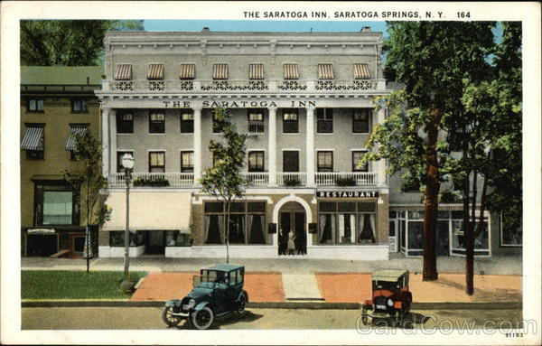 The Saratoga Inn Saratoga Springs New York