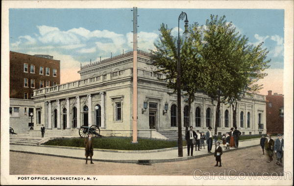 Post Office Schenectady New York