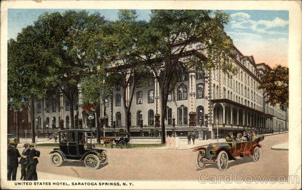 United States Hotel Saratoga Springs New York