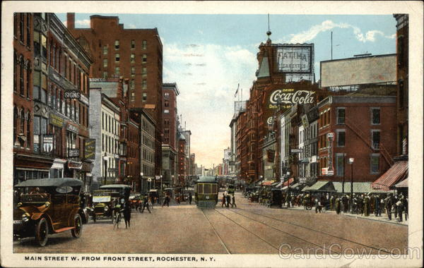 Main Street W. From Front Street Rochester New York