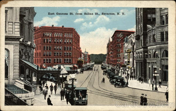 East Genesee St. from Salina St Syracuse New York