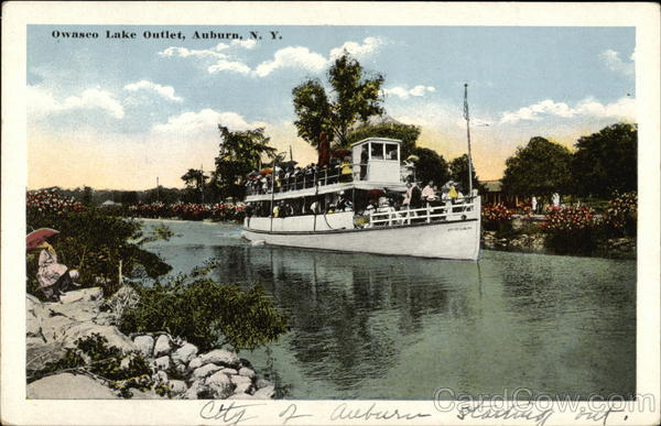Owasco Lake Outlet Auburn New York