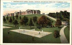 Western State Normal School, Showing Incline and Cable Car