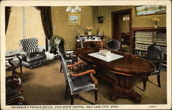 Governor's Private Office, Utah State Capitol