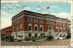 Municipal Building at Corner W. 2nd and Walnut Streets
