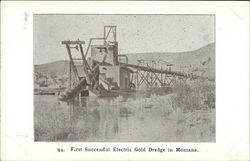 First Successful Electric Gold Dredge in Montana