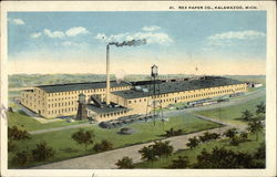 Rex Paper Co Postcard