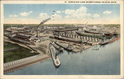 Bird's Eye View of Shipyards