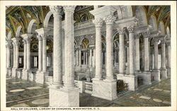 Hall of Columns, Library of Congress