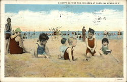 A Happy Day for the Children Postcard