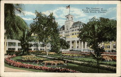 The Gardens at Royal Poinciana Hotel Postcard