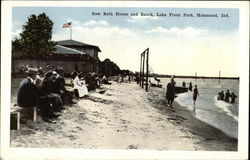Lake Front Park - New Bath House and Beach