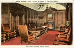 Distillery Offices, Board Room, Hiram Walker & Sons Limited