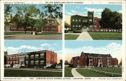 Views of Lewiston State Normal School