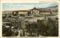 Business District of Hot Springs and National Sanatorium